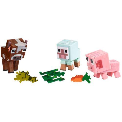 Minecraft Comic Mode Baby Animals 3 Pack