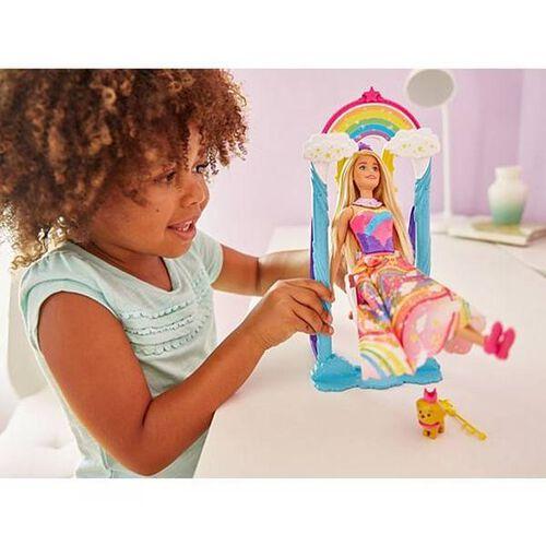 Barbie Princess Swing Fashion Doll