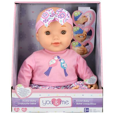 "You & Me 16"" Tickle Baby"