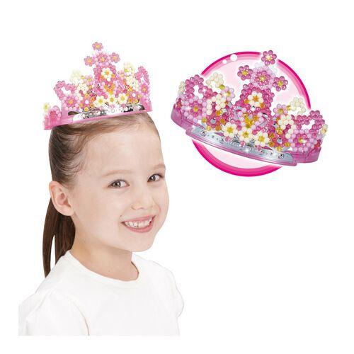 Aqua Beads Princess Tiara Set