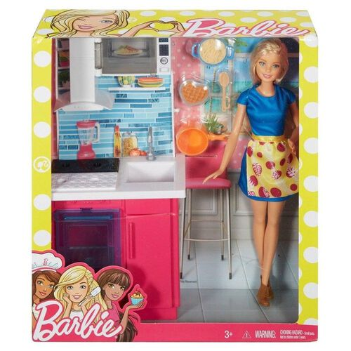 Barbie Doll And Furniture - Assorted