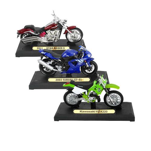 Fast Lane - 1:18 Motorcycle - Assorted