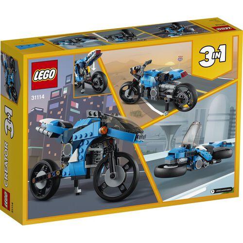 LEGO Creator Superbike 31114