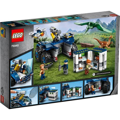 LEGO Jurassic World Gallimimus and Pteranodon Breakout 75940