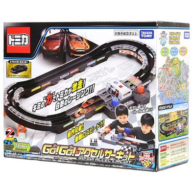 Takara Tomy Tomica Speed Way Dx Go Go Circuit