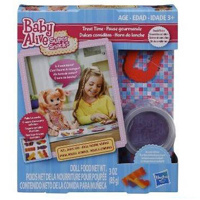 Baby Alive - Treat Time, Ba Refill Yummy Lunch, Ba Refill Noodles Pizza - Assorted