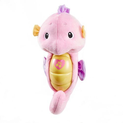 Fisher-Price Infant Sooth and Glow Seahorse Pink