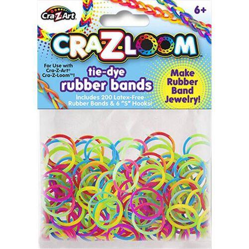 Cra-Z-Art Cra-Z-Loom Tie Dye Rubber Bands