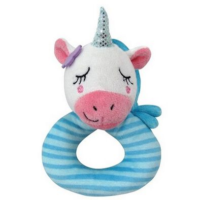 Simple Dimple Unicorn Rattle Toy
