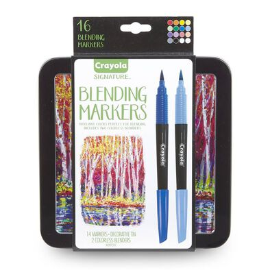 Crayola 16Ct Blending Markers In Tin