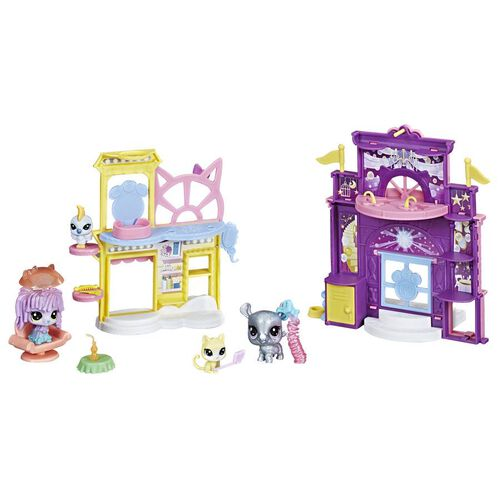 Littlest Pet Shop Sparkle Prep 'N Party Playset