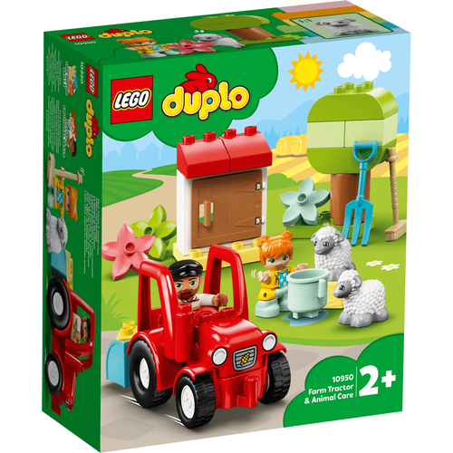LEGO Duplo Town Farm Tractor & Animal Care 10950