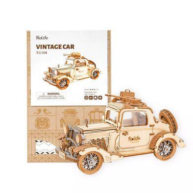 Robotime Rokr DIY Vintage Car