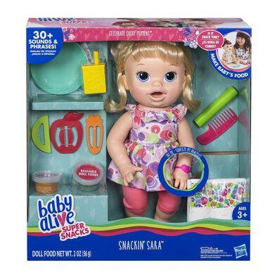Baby Alive Super Snacks Snackin Sara