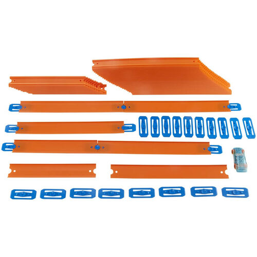 Hotwheels Track Builder Car & Mega Track Pack