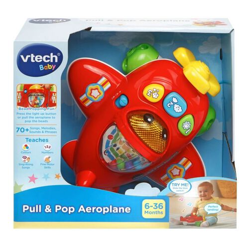 Vtech Pull & Pop Aeroplane
