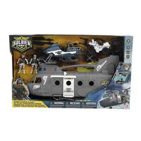 Soldier Force Chinook Carrier Playset