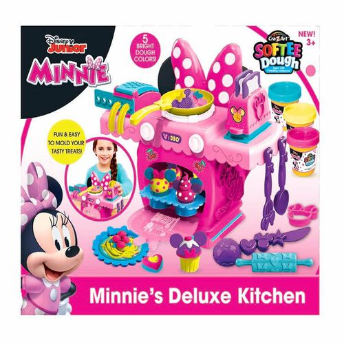 Cra-Z-Art Softee Dough Disney Junior Minnie's Deluxe Kitchen