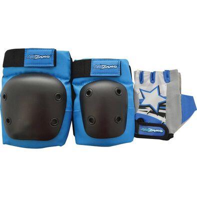 Kidzamo Blue Glove Pad Set (M)