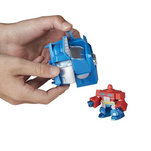 Rubik'S Crew Game: Transformers Optimus Prime Edition