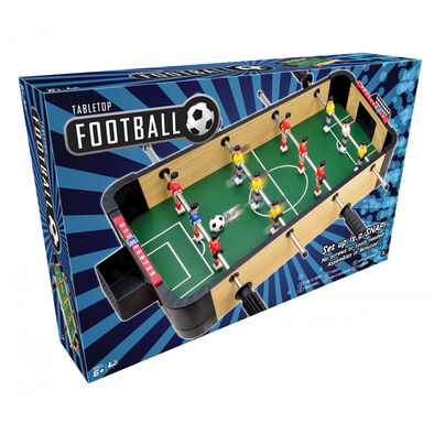 20-Inch Wooden Tabletop Football