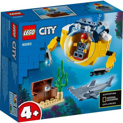 LEGO City Oceans Ocean Mini-Submarine 60263