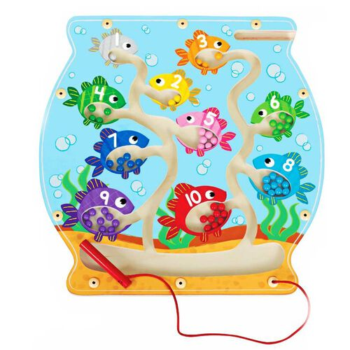 Universe of Imagination Fish Bowl/Counting Magnetic Maze