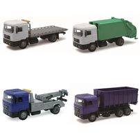 New Ray 1:43 Diecast Man Vehicle - Assorted