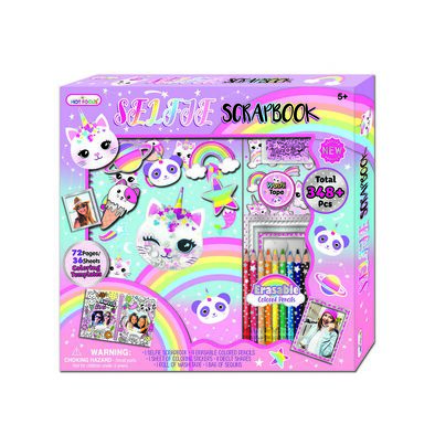 Hot Focus Selfie Scrapbook Set Caticorn