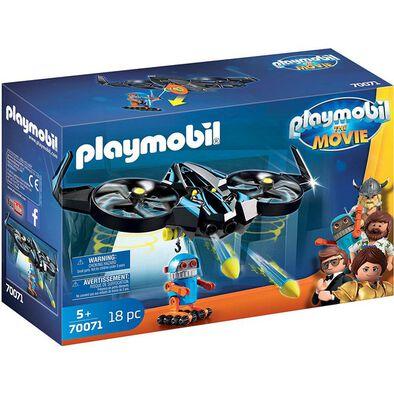 Playmobil The Movie Robotitron With Drone
