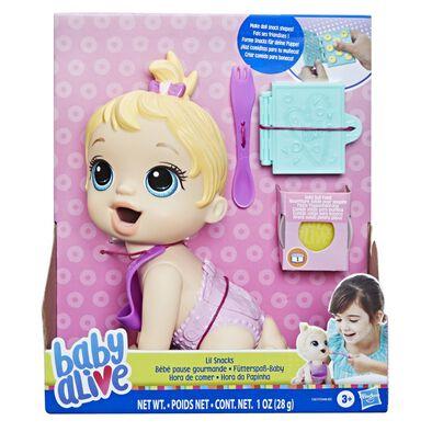 Baby Alive Lil Snacks Doll