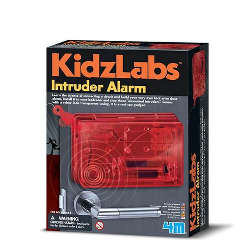 4M KidzLabs Spy Science Intruder Alarm