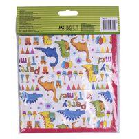 Paper Napkin 33x33cm 12 Pieces Dinosaurs