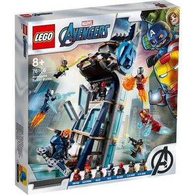 LEGO Marvel Super Heroes Avengers Tower Battle 76166
