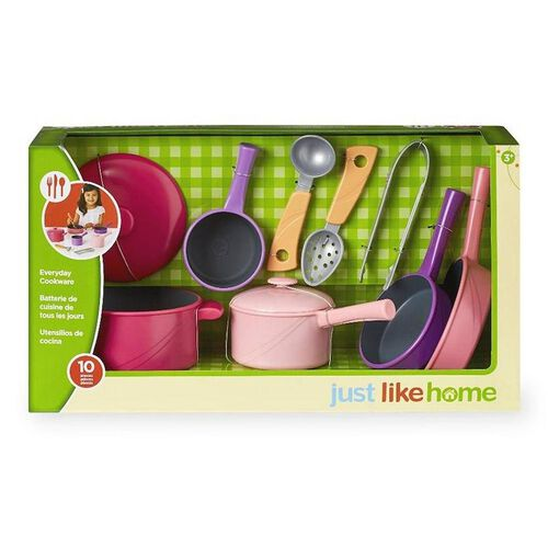 Just Like Home Everyday Cookware (Pink)