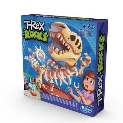 T-Rex Rocks Game