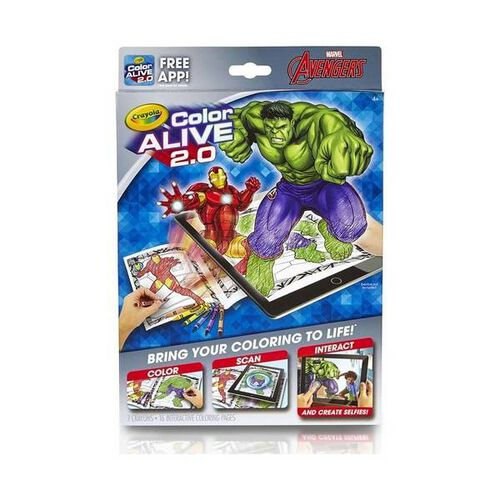 Crayola Color Alive 2.0 Avengers