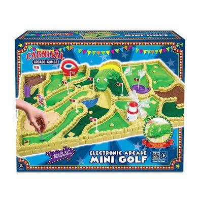 Electronic Arcade Mini Golf