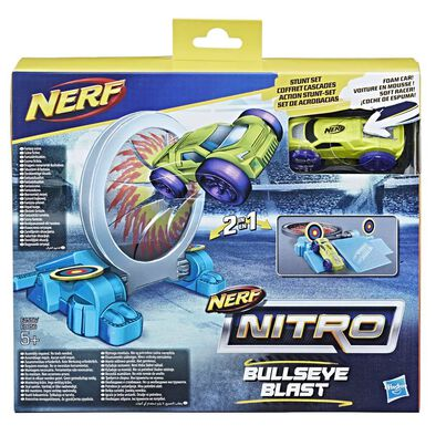 NERF Nitro Dbl Actn Stnt Foam Car - Assorted