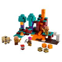 LEGO Minecraft The Warped Forest 21168