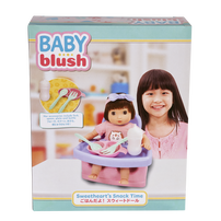 Baby Blush Sweetheart's Snack Time Doll Set