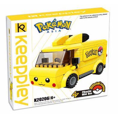 Pokemon Keepplay Pikachu Mini Bus