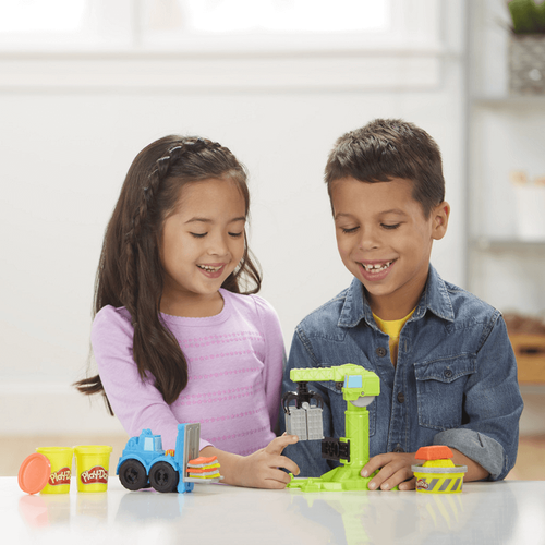 Play-Doh Wheels Crane and Forklift