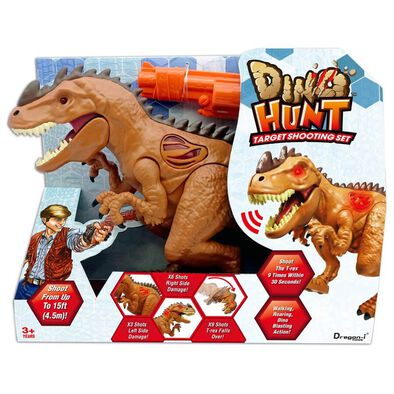 Dino Hunt Target Shooting Set