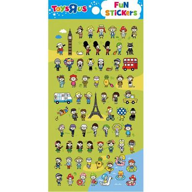 "Toys""R""Us Sticker- Petit Touriste"