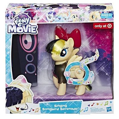 My Little Pony Mlp Singing Songbird Serenade