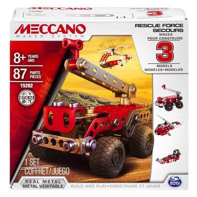 Meccano Multi 3 Model Set Fire Truck
