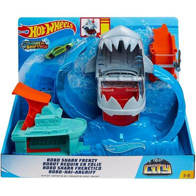 Hot Wheels GJL12 Robo Shark Frenzy Play Set