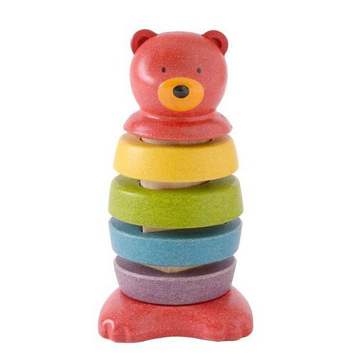Plantoys Stacking Bear