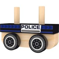 J'adore Police Stacking Sorter Car
